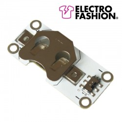 Latching Switch Coin Cell Holder